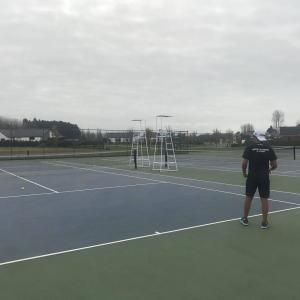 ゴルフとテニス