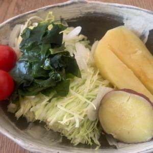 本日の朝食も野菜たっぷり