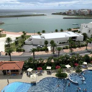沖縄2日目の宿泊は北谷町美浜「ヒルトン沖縄北谷リゾート」オーシャンビューのエグゼクティブルーム