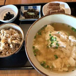 那覇市首里にある沖縄料理のお店「しむじょう」国の登録有形文化財登録古民家でランチにゆし豆腐定食
