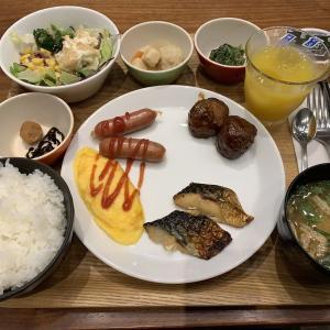 水道橋駅近く「東急ステイ水道橋」中・長期滞在客のためのホテル短期滞在もok!朝食はセットメニューでした