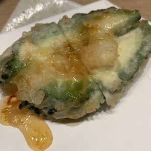 名古屋市中区栄「天ぷらと日本酒 明日源(あすげん)」揚げ立て天ぷらを一人カウンターで楽しめるお店