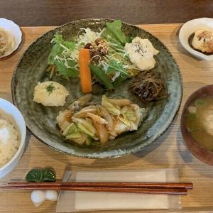 金沢市南塚町の隠れ家的古民家カフェ「野菜古民家」無農薬野菜を使ったヘルシーなランチ