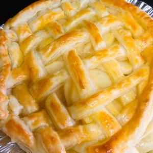 嫁さんのバースデーなんで僕はアップルパイを焼く