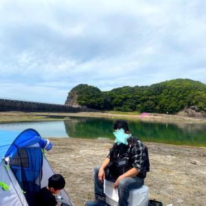 和歌山釣行 磯のアオリイカを求めて