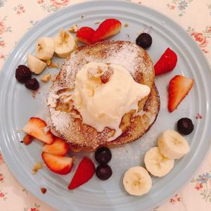 【レシピ】ダイエット中も安心!太らないスイーツ「オートミールパンケーキ」