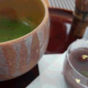 大祓いは水羊羹に抹茶でした・・・6月30日