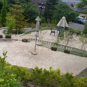 素敵な庭・・・モーニング