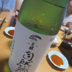 特上ちらしと自然郷純米酒・・・7月26日金曜日