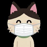 マスク 着け方