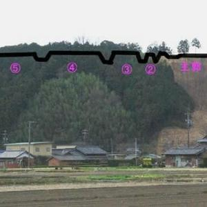 五箇篠山城(ごかささやまじょう)