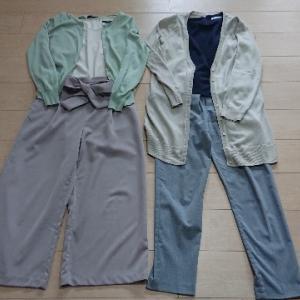 ゆるミニマリストの少ない服で着まわすコーデ:通勤服(季節の変わり目)