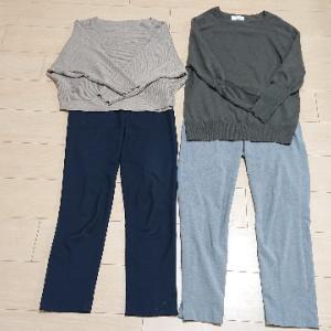 ゆるミニマリスト主婦の少ない服で着まわすコーデ:通勤服(11月)