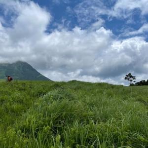 倉木山……雨乞牧場を目指して……