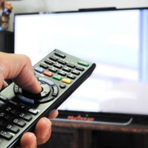 テレビは見たい番組だけに絞って見ることで節約する。