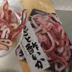 酢イカとキクラゲ炒飯