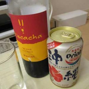 沖縄ビールで気分だけリゾート