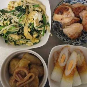 納豆×卵×沢庵=美味ハマる