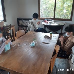 【重要】コロナ対策について、編み物教室ボンエプーからのお知らせです