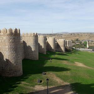 Ávilaの城壁