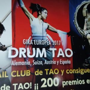 DRUM TAO en España -日本の和太鼓ドラムロック!