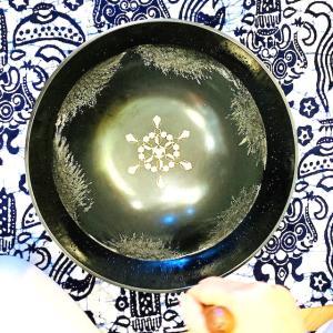 六芒星の生まれる宇宙空間〜シンギングリンとクリスタルグリッドと惑星の音