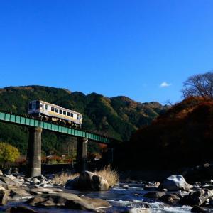〜鉄橋と紅葉~