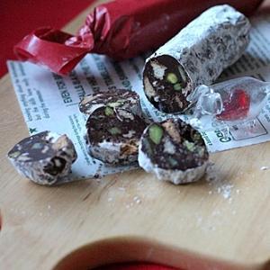 チョコレートサラミ  ※簡単レシピ