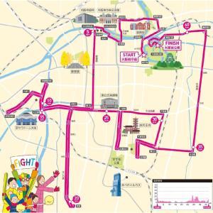 大阪マラソンの新コースのフィニッシュ地点