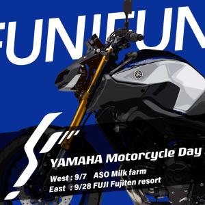 4stYSR ヤマハのイベントに参加することにしたので調整して試運転ツーリング!!
