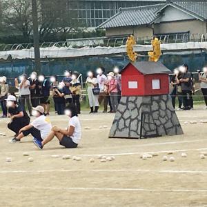 2019年秋、令和初の運動会です!浜松の名物競技「城落とし」を知っていますか?!