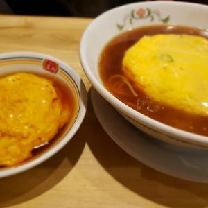 餃子の王将で、天津麺×天津飯!