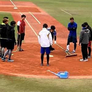 長崎ビッグNスタジアムへ、ホークス選手の練習を見に行く!野球の資料館が見応えあった