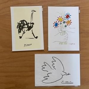 【ハウステンボスピカソ展】お土産に買ってきたもの。作品が描かれたポストカード
