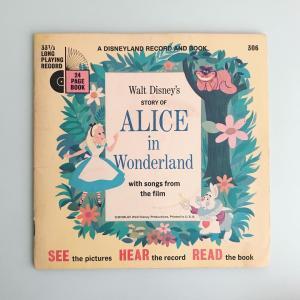 「不思議の国のアリス」レコード付き絵本