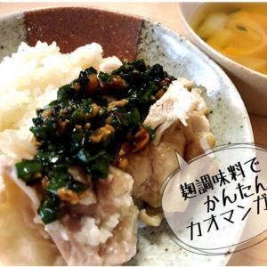 【レシピ付き】管理栄養士の簡単ランチ、カオマンガイ!