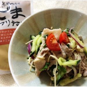 【レシピ付】ねりごまでさっぱりコクうま!豚しゃぶサラダ