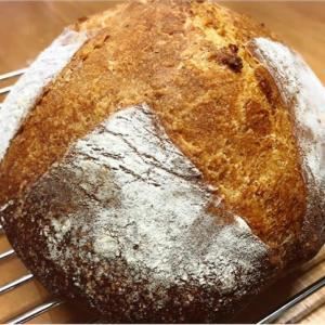 【自家製酵母パン】カンパーニュ失敗・・・でも美味しいのは自家製酵母パンだから!
