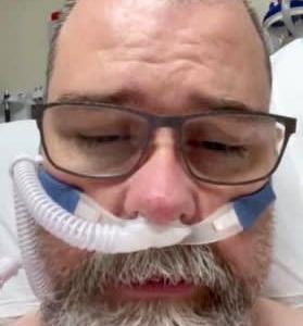 アンチマスク派のコロナ陰謀論者がコロナに感染。病床から訴えるマスク着用の重要性