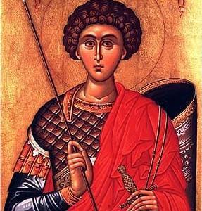 聖ジェオルジオ殉教者  St. Georgius Mart.   軍人の守護者
