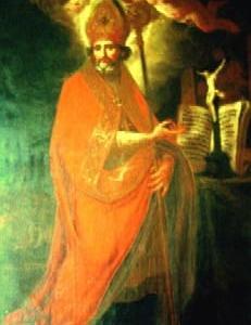 ベルチェリの聖エウゼビオ司教  St. Eusebius de Vercelli