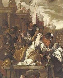 聖アフラ殉教女    St. Afra