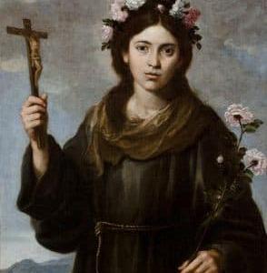 ヴィテルボの聖ローザおとめ    St. Rosa de Viterbio V.