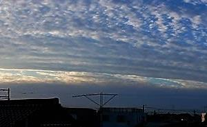 冬の空模様、