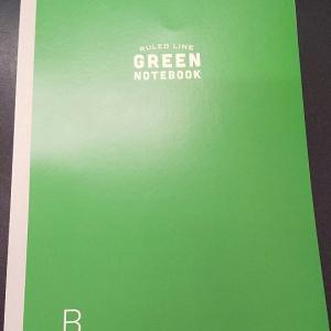 グリーンノートブック