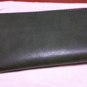長財布を買いました。