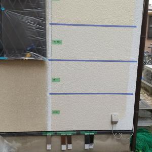 (住宅塗装) 色決めの最終工程