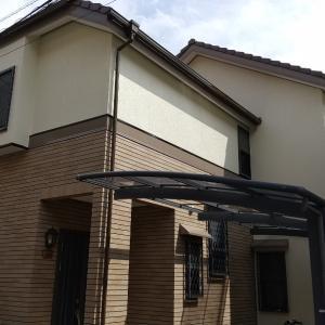 (住宅塗装)吹田市長野西での工事完了しました。