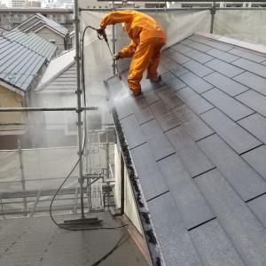 長野西で屋根塗装の完了です!