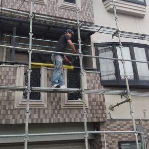 (住宅塗装)吹田市垂水町で着工です!
